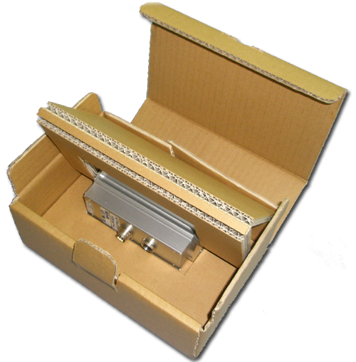 オール段ボール製緩衝材&BOX